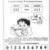Atividades de alfabetização - Alfabetizando e construindo - Matemática