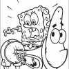 Bob Esponja para colorir 14