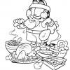 Desenhos para colorir Garfield 12