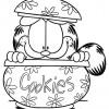 Desenhos para colorir Garfield 13