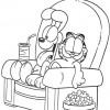 Desenhos para colorir Garfield 27