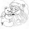 Desenho pra colorir de Natal 3