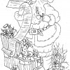 Desenho pra colorir de Natal 13