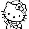 Hello Kitty para colorir 02