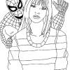 Desenhos para colorir Homem Aranha 08
