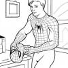 Desenhos para colorir Homem Aranha 15