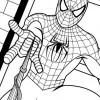 Desenhos para colorir Homem Aranha 18