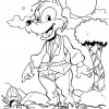 Desenho para colorir Folclore