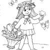 Desenhos colorir e pintar Primavera