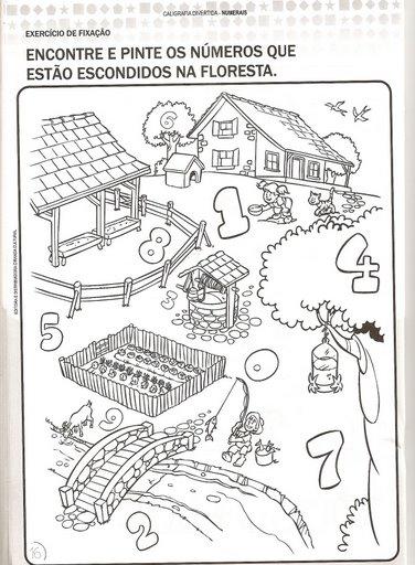 Atividades Infantil Pré-escola 12