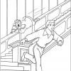 Desenho colorir Cinderela 17