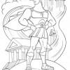 Desenhos colorir Hércules 03