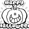 Desenho colorir Dia das Bruxas - Halloween 3