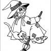 Desenho colorir Dia das Bruxas - Halloween 6