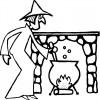 Desenho colorir Dia das Bruxas - Halloween 9