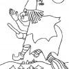 Desenho colorir Dia das Bruxas - Halloween 11