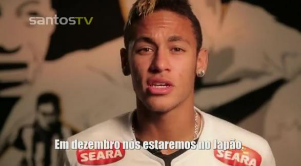 Neymar fala em japonês