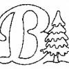 Alfabeto de Natal - Letra B