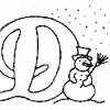 Alfabeto de Natal - Letra D