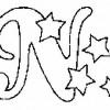 Alfabeto de Natal - Letra N