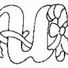 Alfabeto de Natal - Letra U