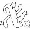Alfabeto de Natal - Letra X