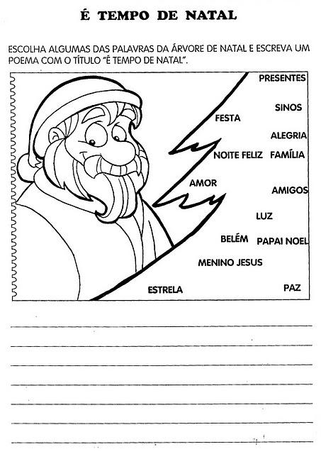 Atividade de Natal para o Ensino Fundamental 08