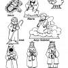 Desenhos de Natal - Presépios 03