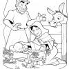 Desenhos de Natal - Presépios 07