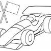 Desenhos para colori de Carros de Corrida 05