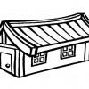 Desenhos colorir - Casas 12