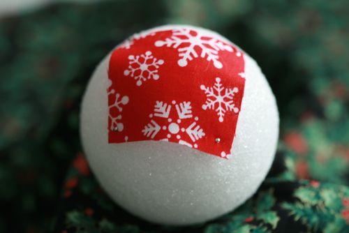 Pinhas de Natal feitas com retalhos de tecido 05