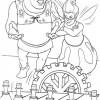 Desenho colorir Shrek 29