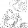 Desenho colorir Shrek 31