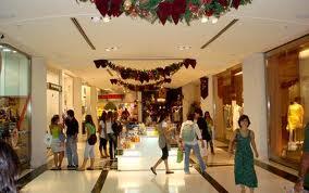 Vendas de Natal em Shoppings