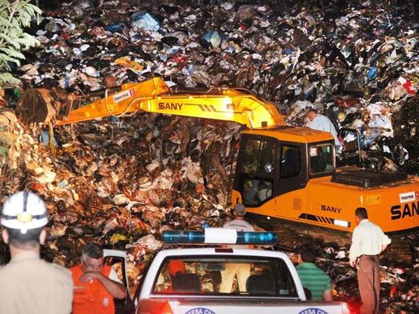 Criança é soterrada em lixão de Campo Grande (MS)