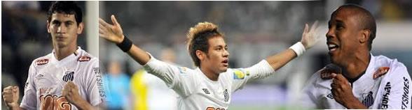 Ganso, Neymar e Borges