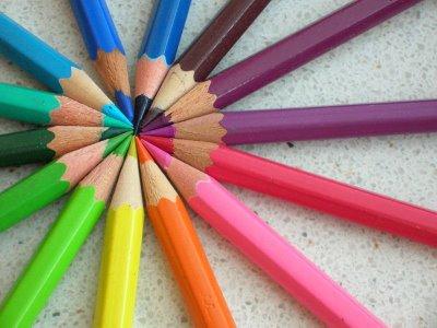 Ensinar as cores às crianças