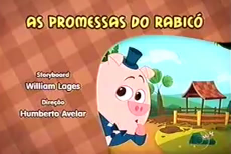 3º episodio de Sitio do Picapau Amarelo: As promessas do Rabicó