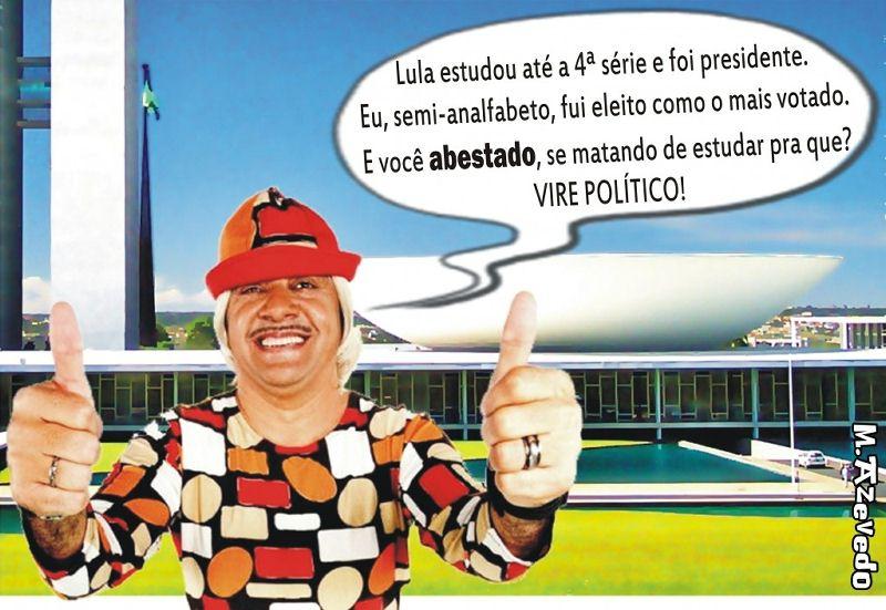 Recado do Tiririca para o povo brasileiro