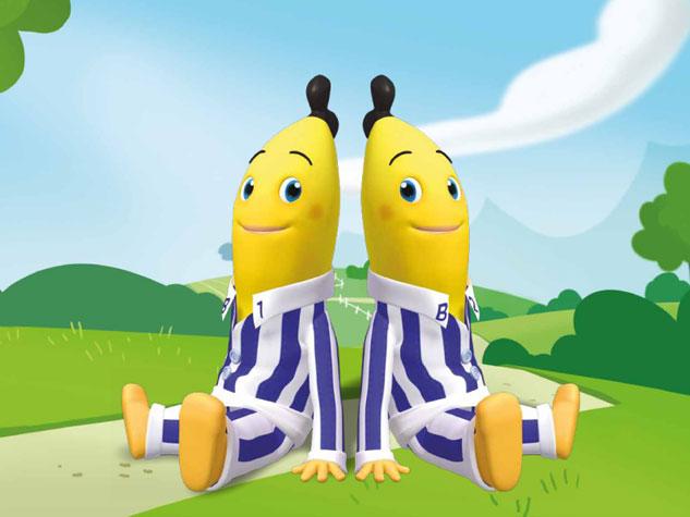 Personagens B1 e B2  - Bananas de Pijamas