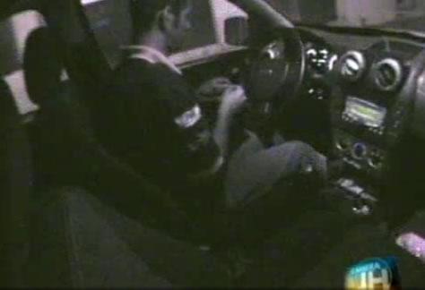 Câmera JH flagra manobristas furtando