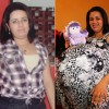 Foto da falsa grávida de Taubaté sem barriga
