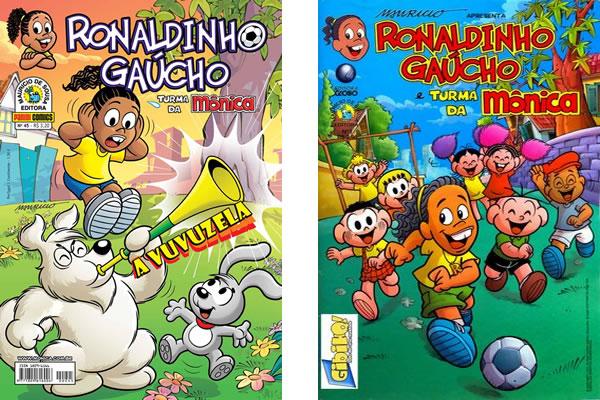Gibis do Ronaldinho Gaúcho
