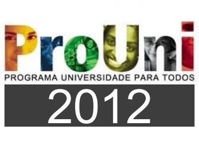 ProUni 2012