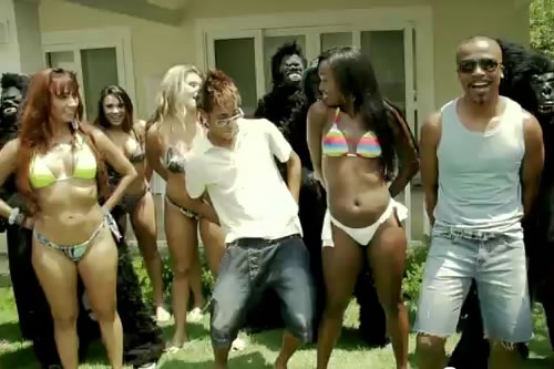 Assista ao clipe de Kong, de Alexandre Pires, e com Neymar