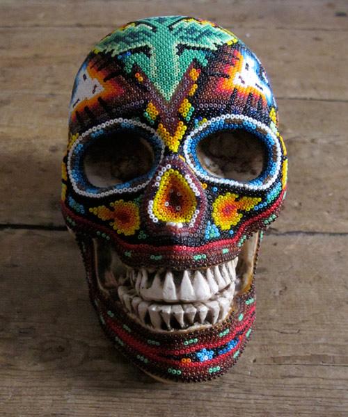 Arte com crânios Huichóis - 02