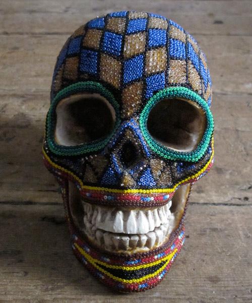 Arte com crânios Huichóis - 03
