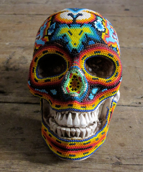 Arte com crânios Huichóis - 04