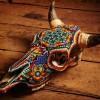 Arte com crânios Huichóis - 06